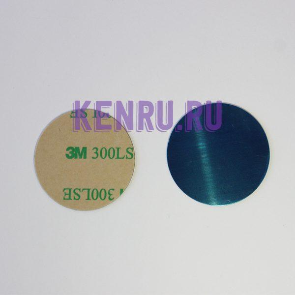 Пластина для магнитного держателя серебристый
