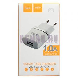 Hoco C11 Блок Smart USB Charger 1.0A