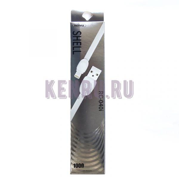 REMAX RC-040i Shell Cable Lightning iPhone 1м