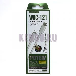 WEKOME WDC-121 Кабель Type-C to Lightning 1м White