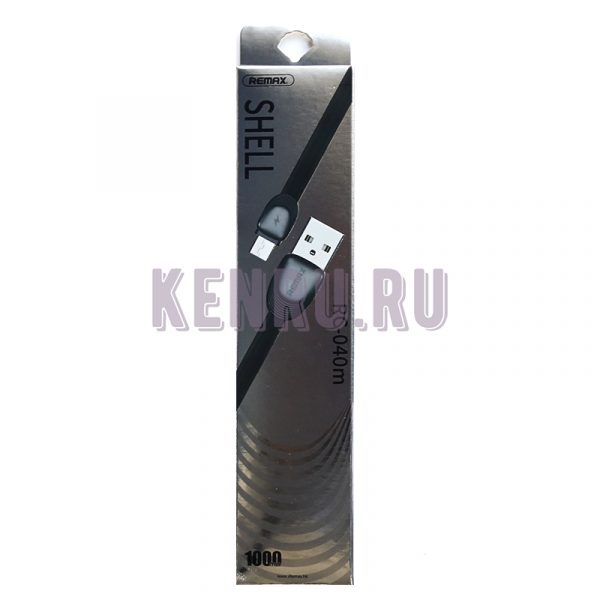 REMAX RC-040m Shell Cable Кабель Micro 1м