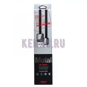 REMAX RC-044m Platinum Metal Кабель Micro 1м