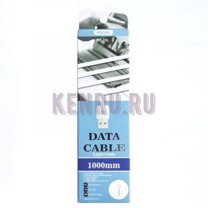 REMAX RC-06i-1m Data Cable Light Кабель iPhone 1м Белый