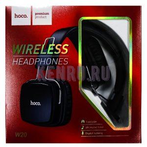 Hoco W20 Wireless Headphones Наушники беспроводные большие Black