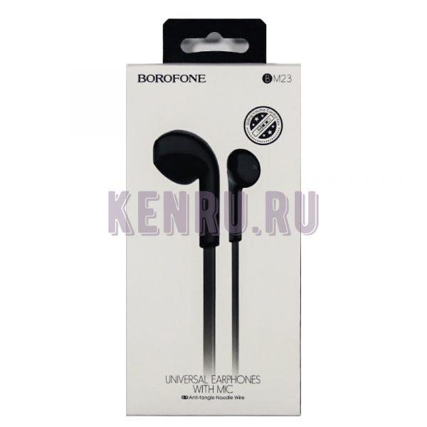 Borofone Наушники BM23 Bright sound universal Черный