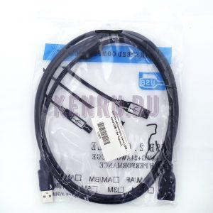Кабель-удлинитель мама USB - папа USB 1.5м Черный