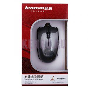 Мышь проводная оптическая Lenovo/Acer маленькая