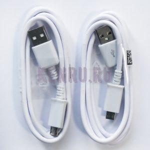 Кабель micro USB Черный/Белый