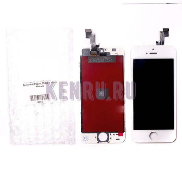 Дисплей для iPhone 5S SE в сборе Белый