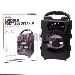 Proda S500 Колонка Xunshen Portable Speaker Black