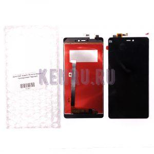 Дисплей для Xiaomi Mi 4i в сборе с тачскрином Черный