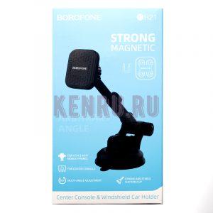 Borofone BH21 Strong Magnetic Автомобильный держатель магнитный на торпеду/стекло Black