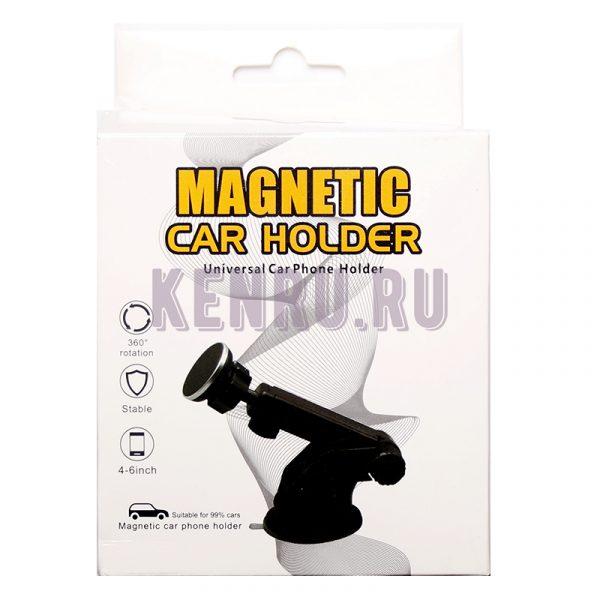 Автомобильный держатель магнитный на СТЕКЛО-ТОРПЕДУ MAGNETIC CAR HOLDER