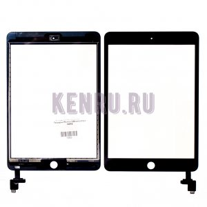 Тачскрин для iPad mini 3 Black comp с HOME
