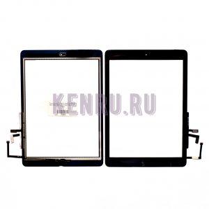 Тачскрин для iPad Air Ipad 5 A1474 1475 1476 1822 1823 Ipad 9.7 2017 Black AA с home