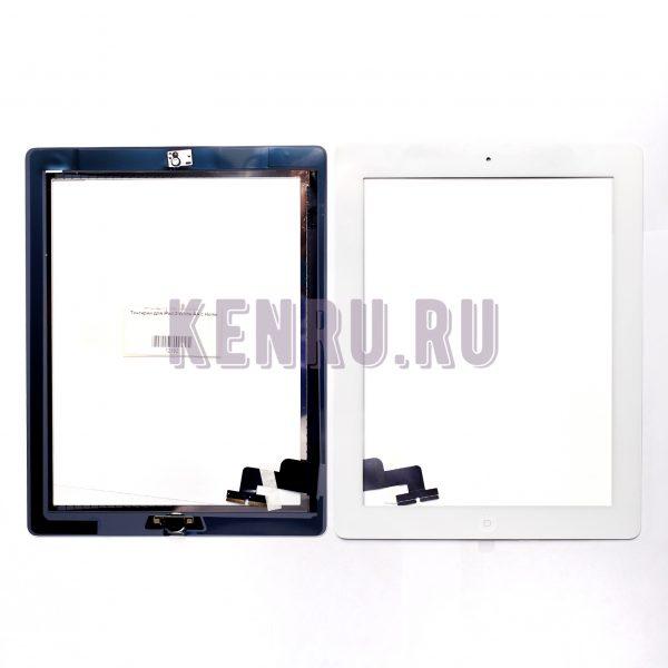 Тачскрин для iPad 2 White AA с Home