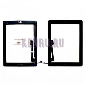 Тачскрин для iPad 3 iPad для 4 Black Comp AA с HOME