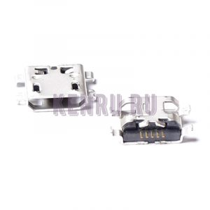 Разъем MicroUSB для Huawei Y300 C8812 C8813 C8813Q C8813D U960S Blackberry 9320 Alcatel 995 mini
