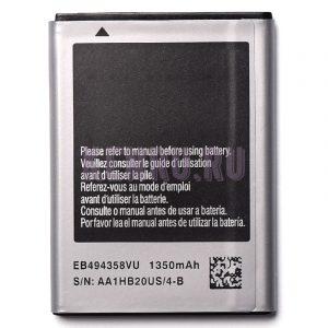 АКБ для Samsung EB494358VU S5830 B7800 S5660 S5670 S6102 S6802 S6790 S7250 S7500