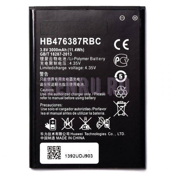 АКБ Huawei HB476387RBC Honor 3X G750