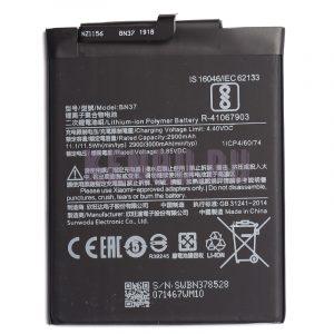 АКБ для Xiaomi BN37 Redmi 6 Redmi 6A