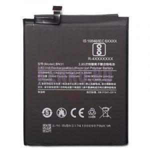 АКБ для Xiaomi BN31 Mi 5X Mi A1 Redmi Note 5A Redmi Note 5A Prime