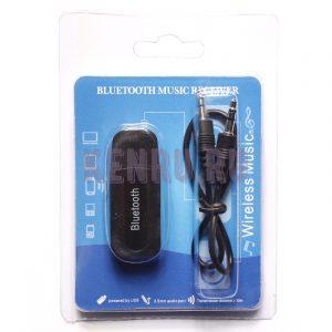 Автомобильный музыкальный приемник aux Bluetooth music receiver Черный