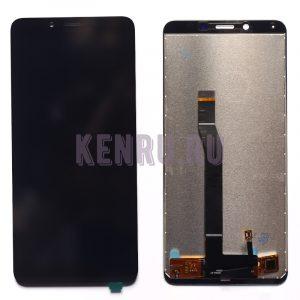 Дисплей для Xiaomi Redmi 6 Redmi 6A в сборе с тачскрином Черный