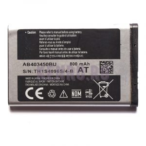 АКБ для Samsung AB403450BU E590 E598 E2510 M3510 S5510 E2550 S3550 S5050