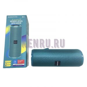 Borofone Колонка BR1 Beyond sportive wireless speaker Peacock blue