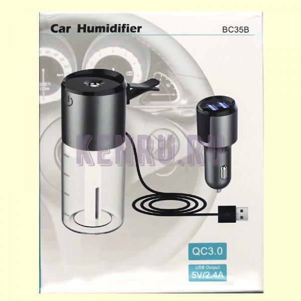 BC35B Автомобильное зарядное устройство + увлажнитель воздуха