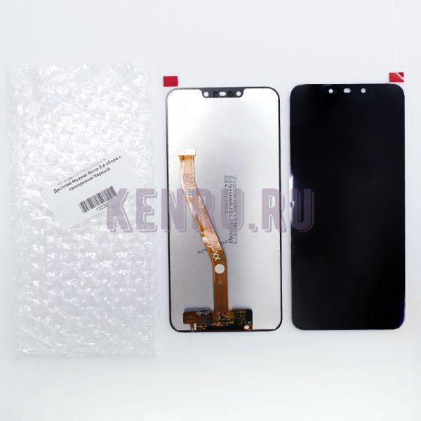Дисплей Huawei Nova 3 в сборе с тачскрином Черный