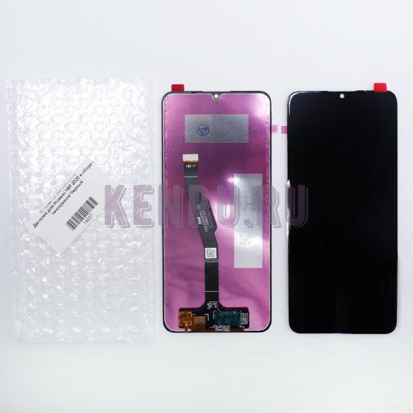 Дисплей для Huawei Y6P 2020 в сборе с тачскрином Черный