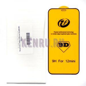 Защитное стекло iPhone GLASS 9D 12mini