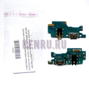 Шлейф для Samsung M307F M215F M315F M30s M21 M31 плата системный разъем разъем гарнитуры микрофон