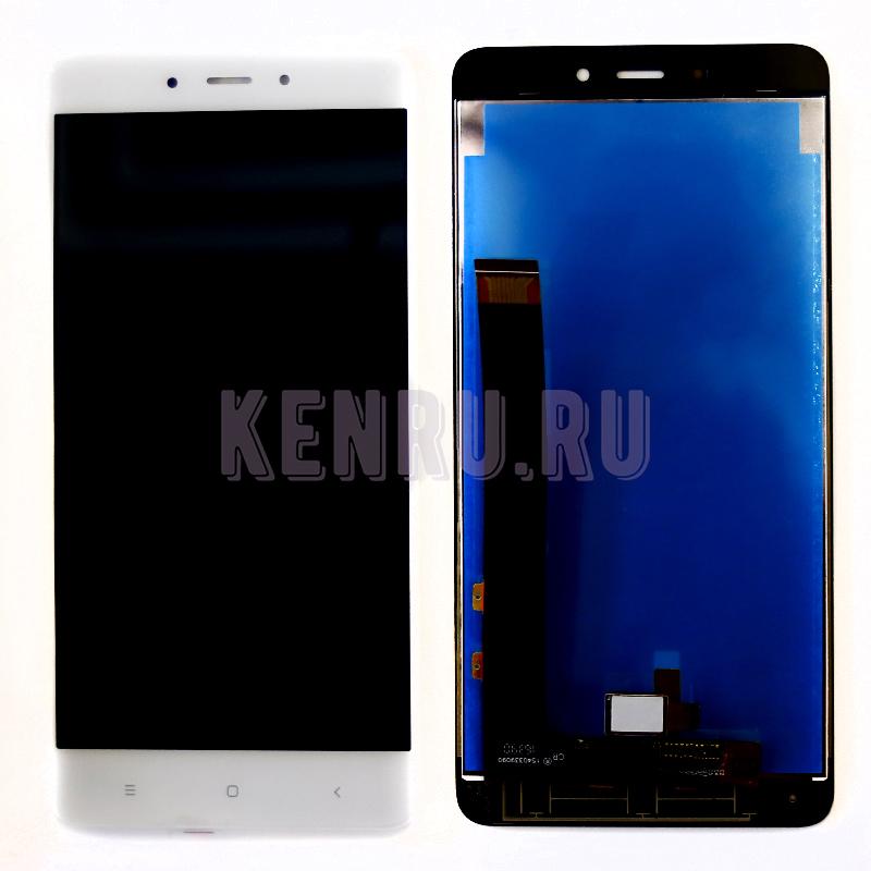 Дисплей Xiaomi Redmi Note 4/Note 4 PRO в сборе с тачскрином Белый