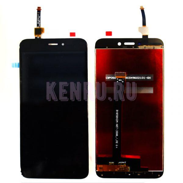 Дисплей Xiaomi Redmi 4X в сборе с тачскрином Черный