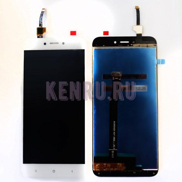 Дисплей Xiaomi Redmi 4X в сборе с тачскрином Белый