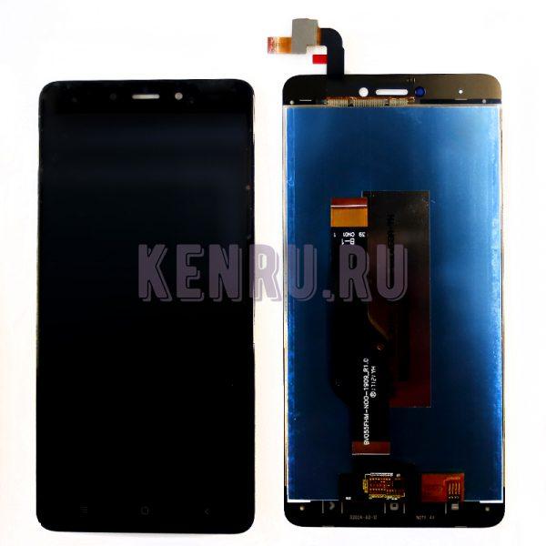 Дисплей для Xiaomi Redmi Note 4X Note 4 Global Version в сборе с тачскрином Черный