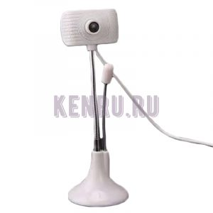 Веб-камера HD проводная микрофон белая