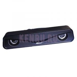 Колонки 2.0 Hotmai HT-2020 LED Черные