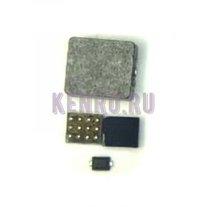 Микросхема управления подсветкой U1502 L1503 D1501 iPhone 6 iPhone 6 Plus комплект 3 в 1