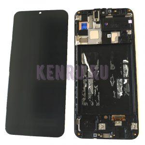 Дисплей для Samsung A505F A50 модуль Черный - OR