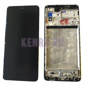 Дисплей для Samsung M515F M51 модуль Черный - OR