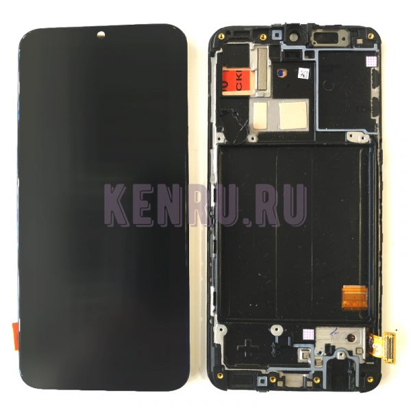Дисплей для Samsung A405F A40 модуль Черный - OR