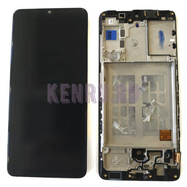 Дисплей для Samsung A415F A41 модуль Черный - OR
