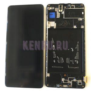 Дисплей для Samsung A715F A71 модуль Черный - OR