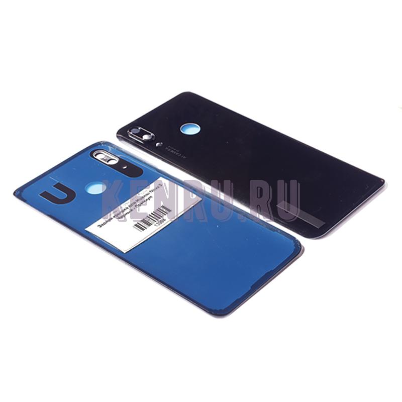 Задняя крышка для Huawei Nova 3 Черный - Премиум