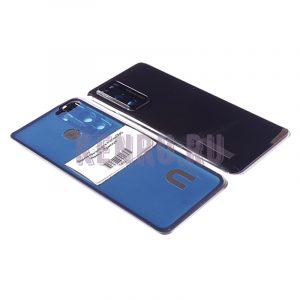 Задняя крышка для Huawei P40 Черный - Премиум