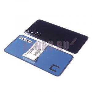 Задняя крышка для Huawei Honor 20 Черный - Премиум